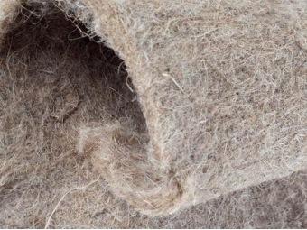Netkaná rohož z konopných vlákien