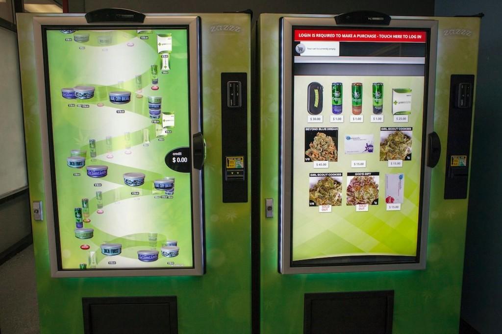 V USA si marihuanu kúpite aj v automatoch.